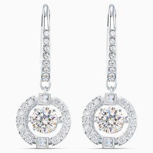 SWAROVSKI Sparkling Dance Pierced Earrings